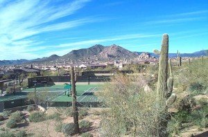 Winfield Tennis Courts Scottsdale AZ 300x198 Winfield Real Estate Arizona | Winfield Estates Scottsdale