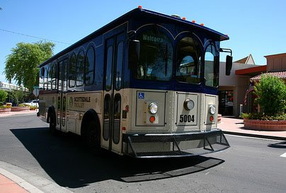 Charming Scottsdale Trolley