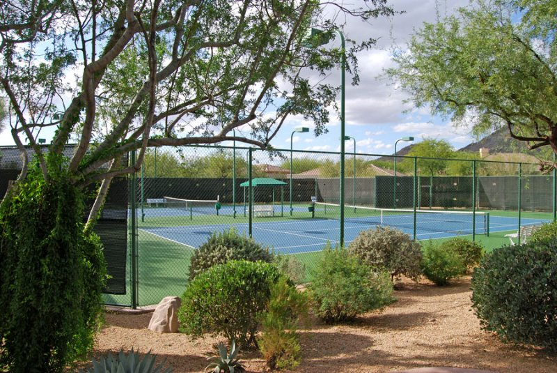 Terravita Real Estate Community Tennis Courts