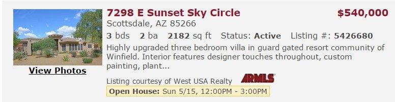 7298 E Sunset Sky Circle-85266