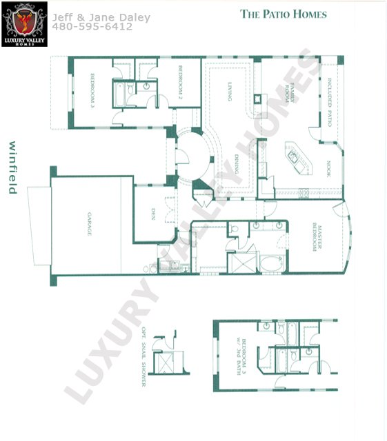 Serenadefinal. Serenade Model 2442 Square Feet. Inspiration Floor Plan