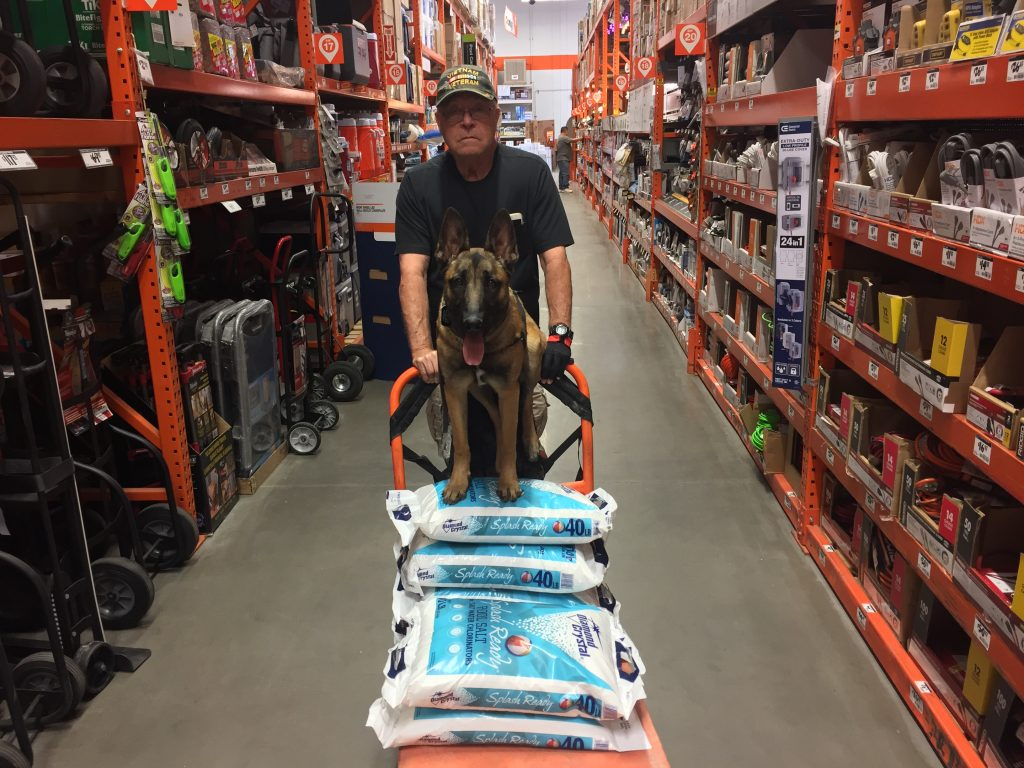 Marshall Shopping Home Depot